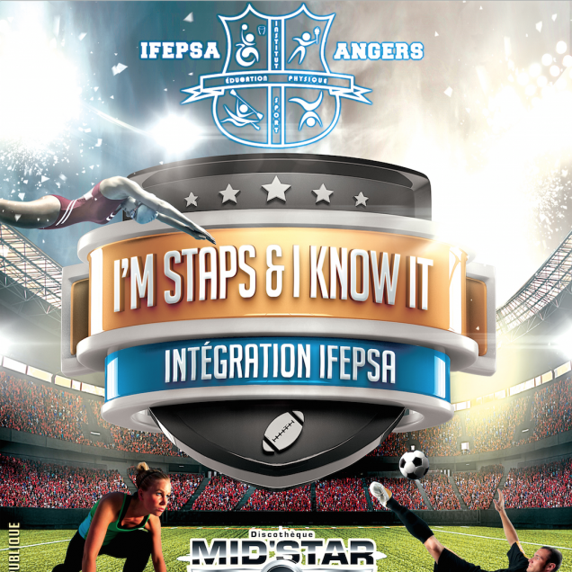 Soirée I'm Staps & I Know It (IFEPSA) Mer. 17 Septembre 2014