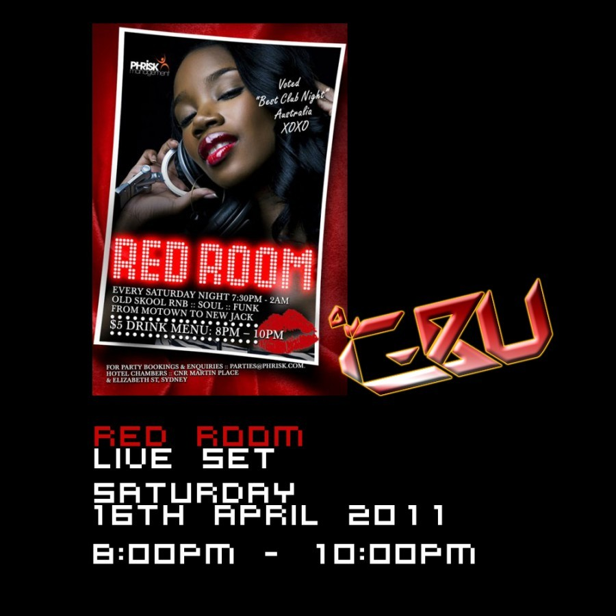 Red Room, 16th April 2011 8pm-10pm