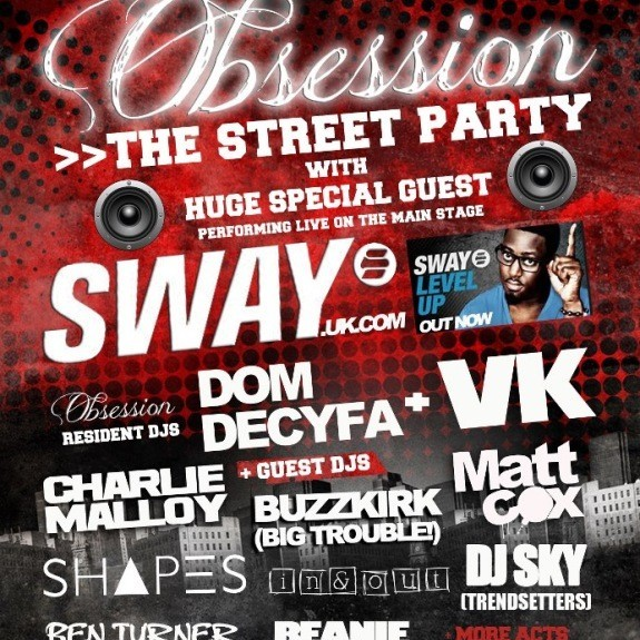 Obsession Street Party 06/10/2012