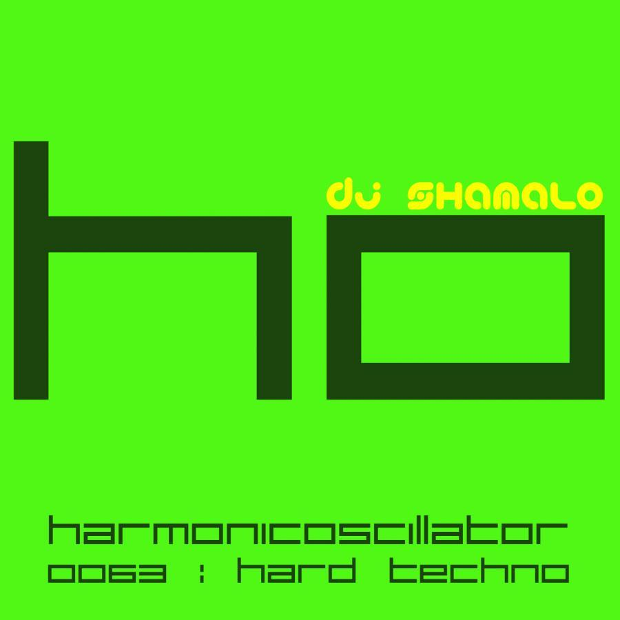 HarmonicOscillator#0063 : Hard Techno