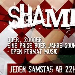 27.04.2019 - Shameless Party (Open Format Music) (80s, 90s, 00s,10s)