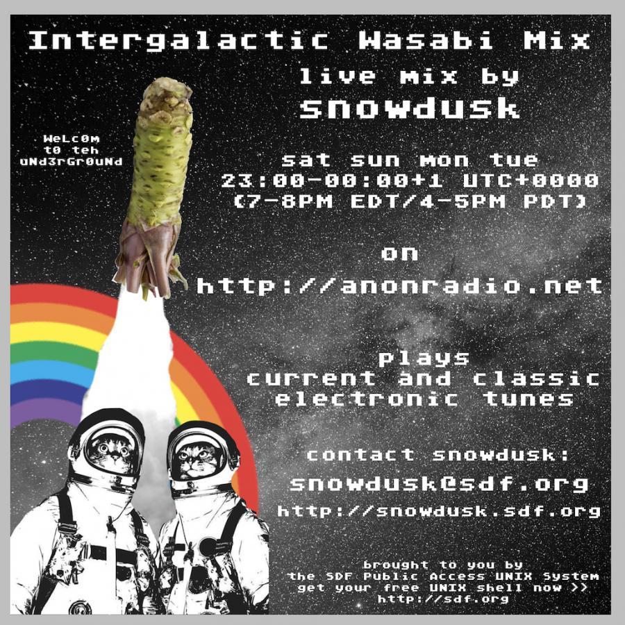 2018-05-07 / Intergalactic Wasabi Mix