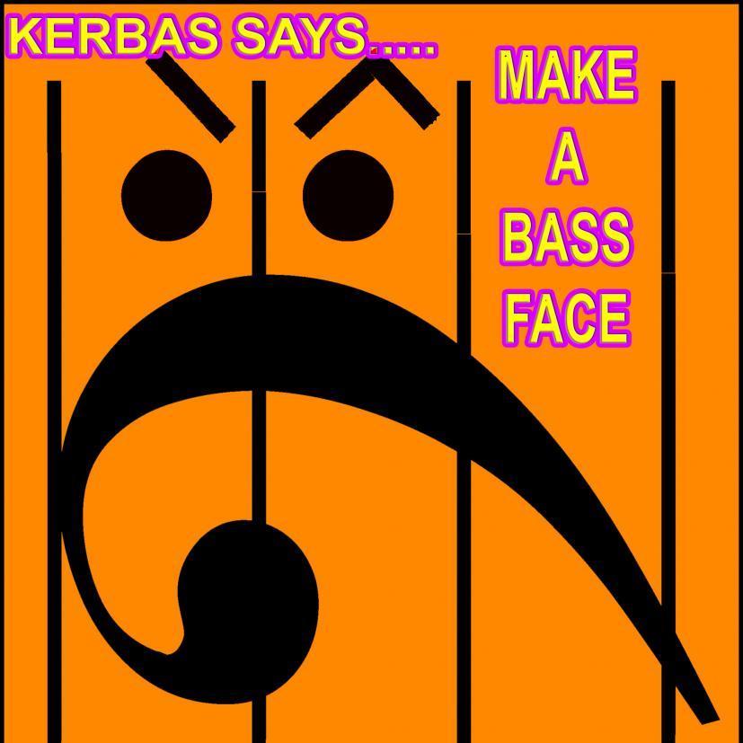 MAKE A BASS FACE