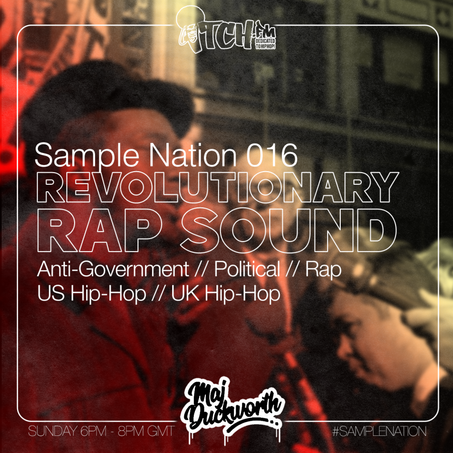 Sample Nation // Revolutionary Rap Sound // 01/09/2019