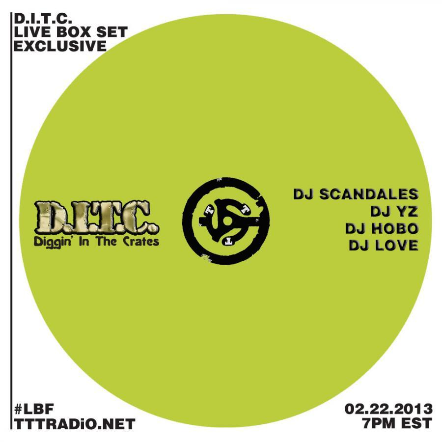 DJ HoBo - D.I.T.C. Mix (Feb_22 2013)