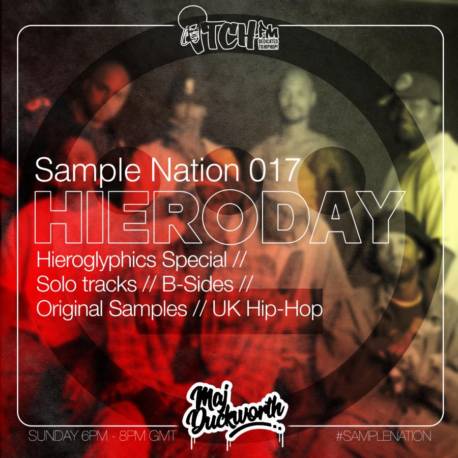 SAMPLE NATION 017 // HIERODAY // 08/09/2019