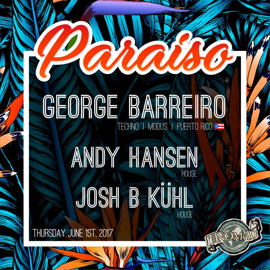 Paraíso - 20170601 @ Nomad