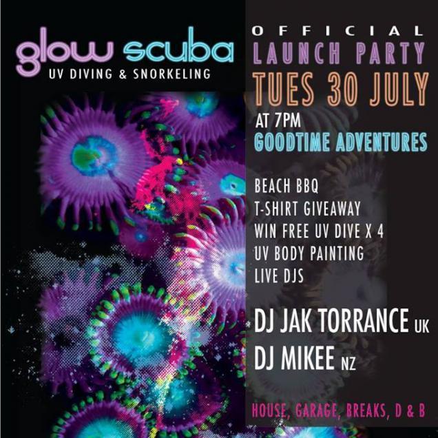 Glow Scuba Launch Party