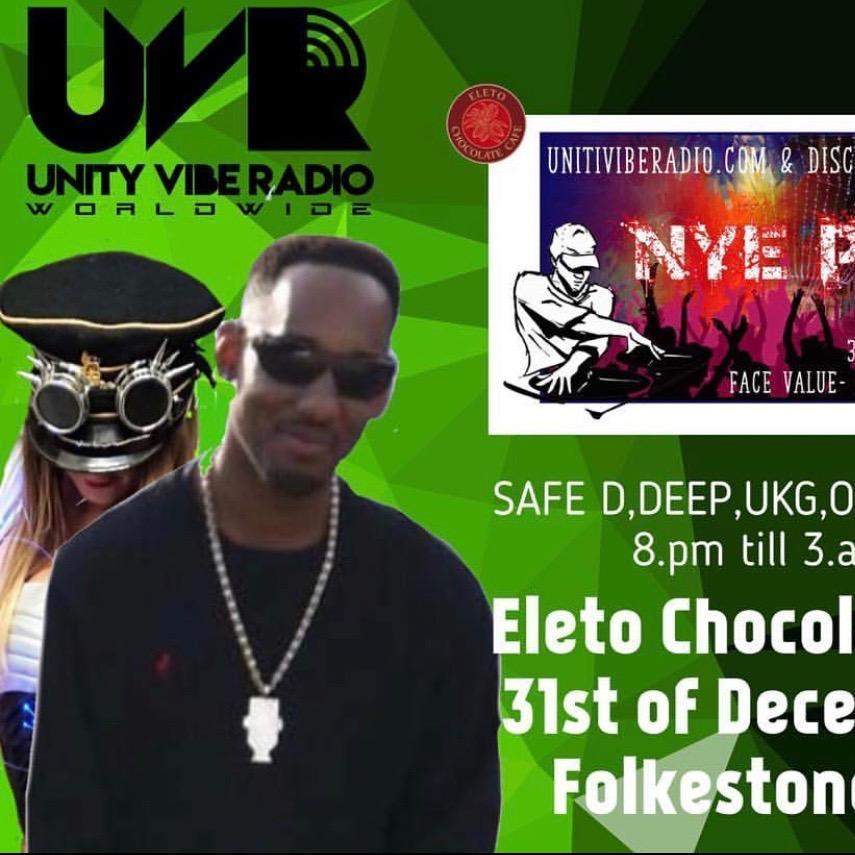 DJ SafeD @EletoChocolateCafe (Folkestone) - NYE 31-12-2018