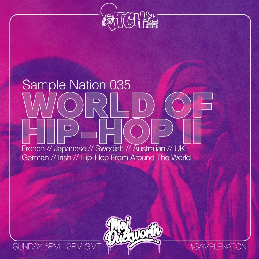 SAMPLE NATION 035 // WORLD OF HIP-HOP 2