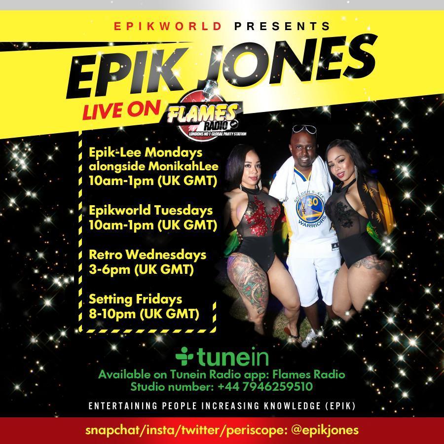 EPIK-LEE MONDAYS 3RD HOUR 11/04/2016