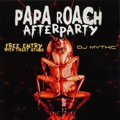 Papa Roach Aftershow (08-Dec-2013)