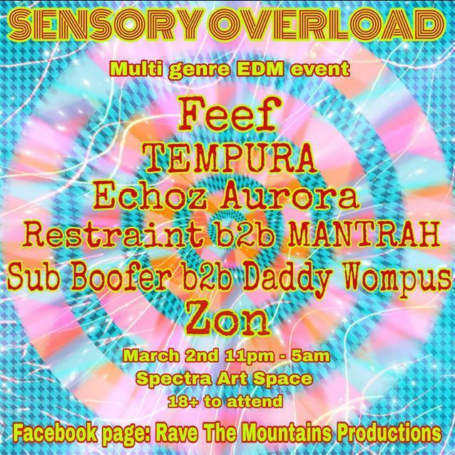Sensory Overload 3/3/19