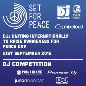 Set For Peace 2015 - DJ G