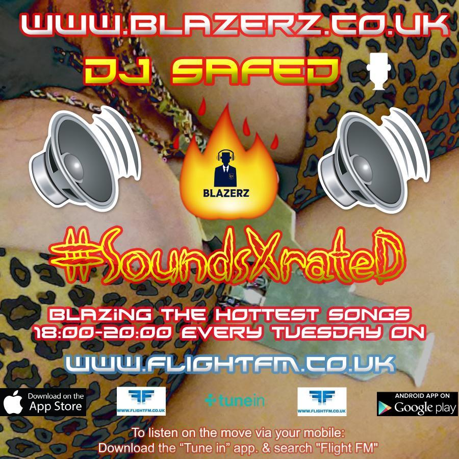 DJ SafeD - #SoundsXRateD Show - On Flight London - (Tuesday's 6-8 PM) - 25-07-18 - #FBLive 1 of 2