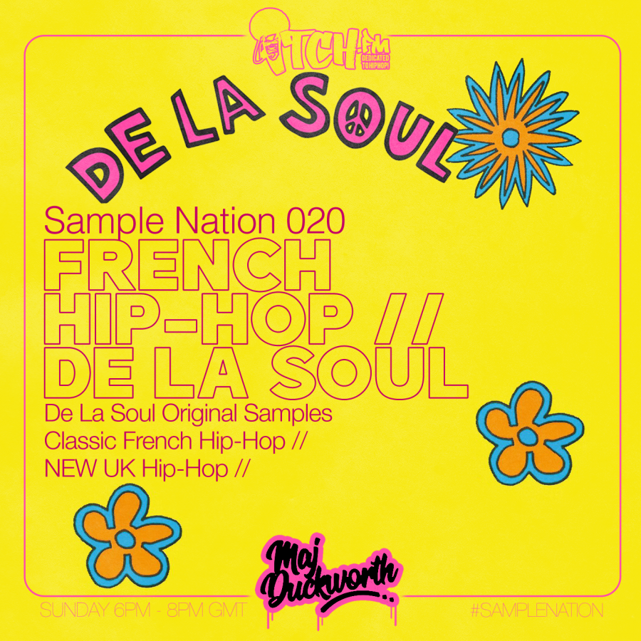SAMPLE NATION 020 // FRENCH HIP-HOP // DE LA SOUL
