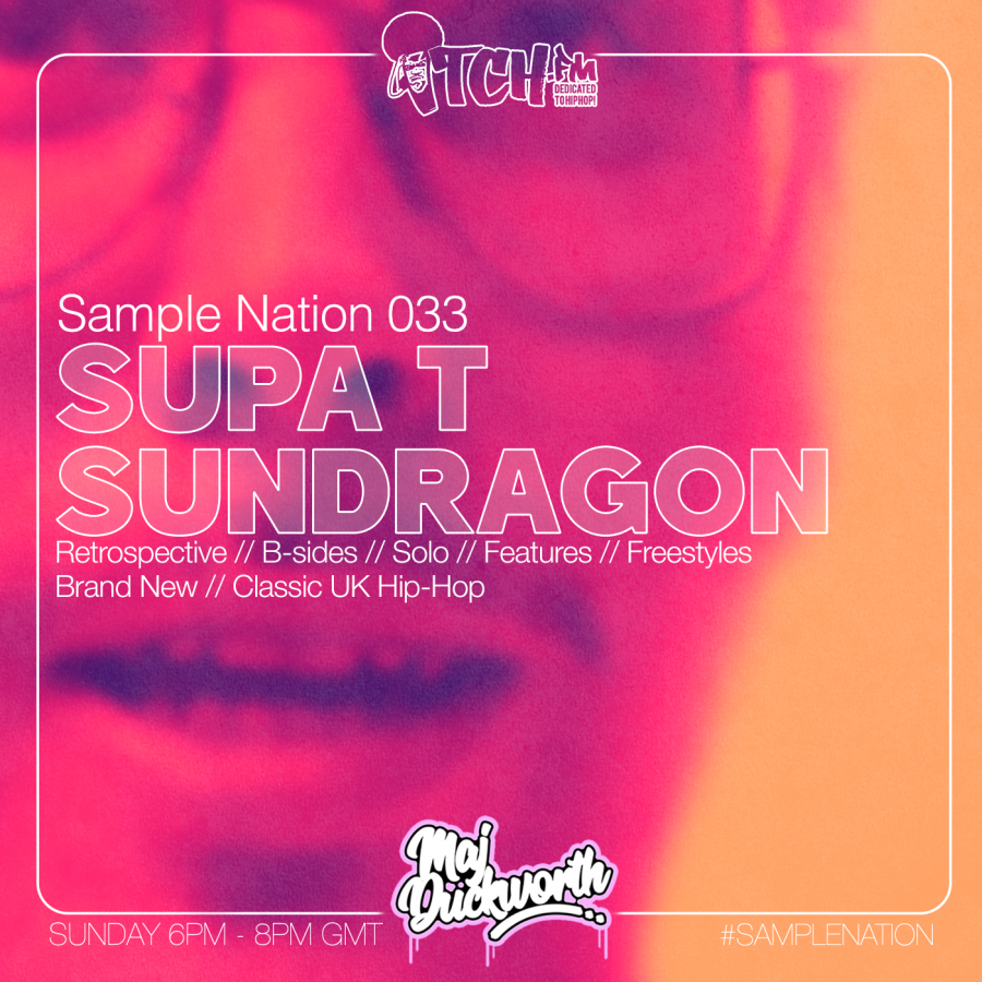 SAMPLE NATION 033 // SUPA T // SUNDRAGON