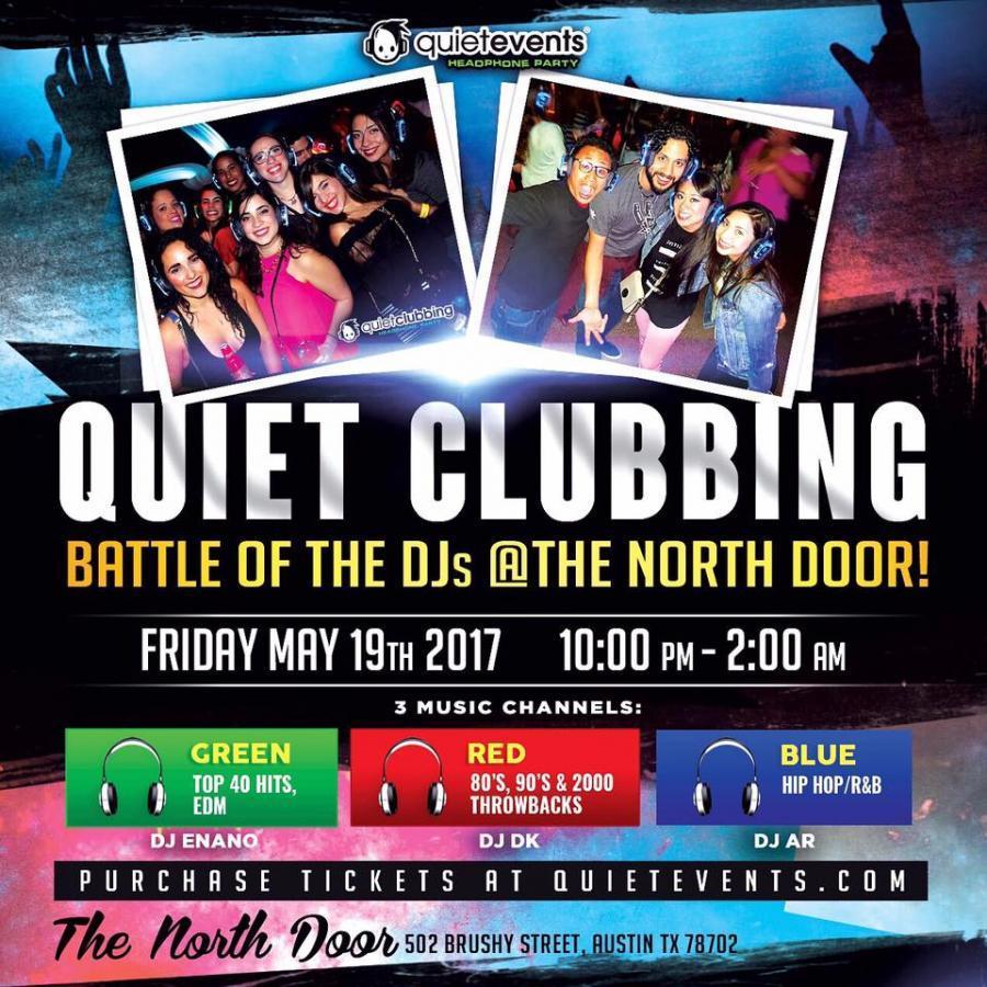 5/19/17 - Quiet Clubbing