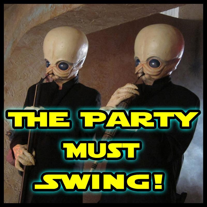 Funky Cantina Band Vol.3 - The Party Must Swing!