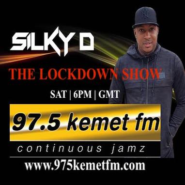 23/03/2019 - LOCKDOWN SHOW - DJ SILKY D - @975kemetfm - DJ SILKY D