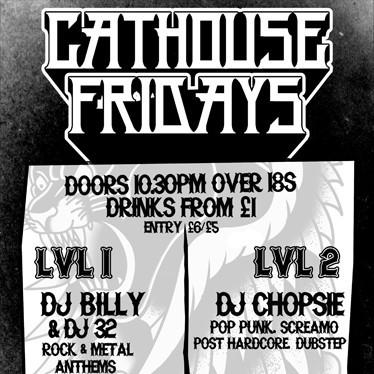 Cathouse Friday's (31-Aug-2012)