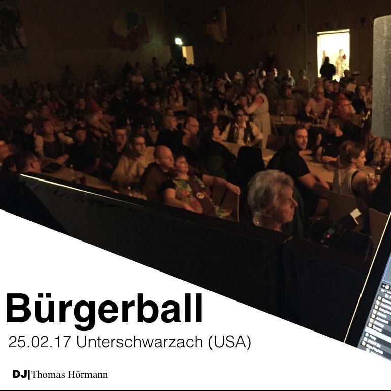 Bürgerball Unteschwarzach