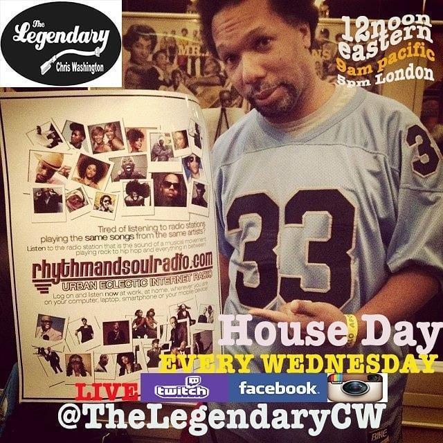 House Day with The Legendary Chris Washington 5/27/20