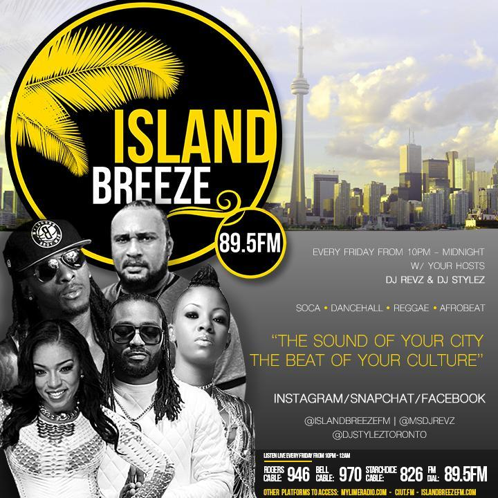 Island Breeze FM Playlist Nov 18th