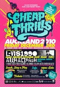 Cheap Thrills feat. Lvis1990 (UK) - 3/12/10