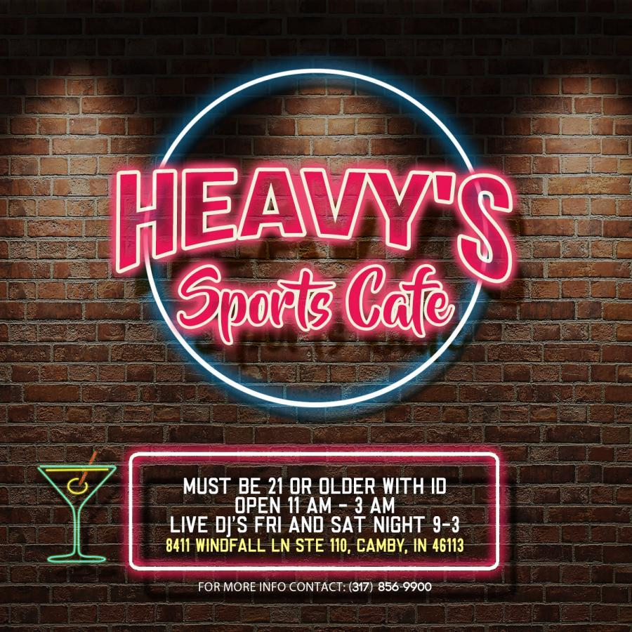 Heavy's Sports Cafe 7/7/17
