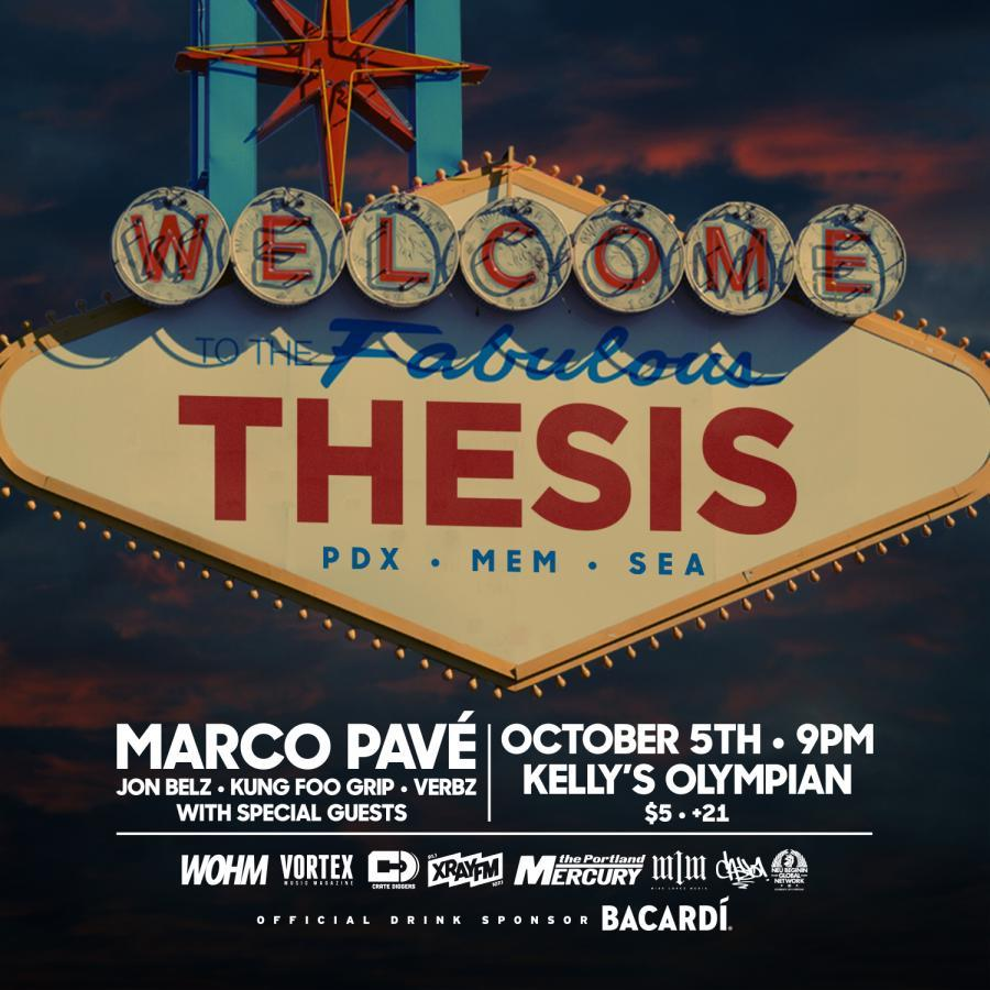 The Thesis // October 2017