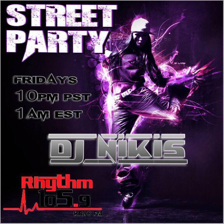 Rhythm 105 9 fm Friday Night Street Party 11-16-18 - Nick M