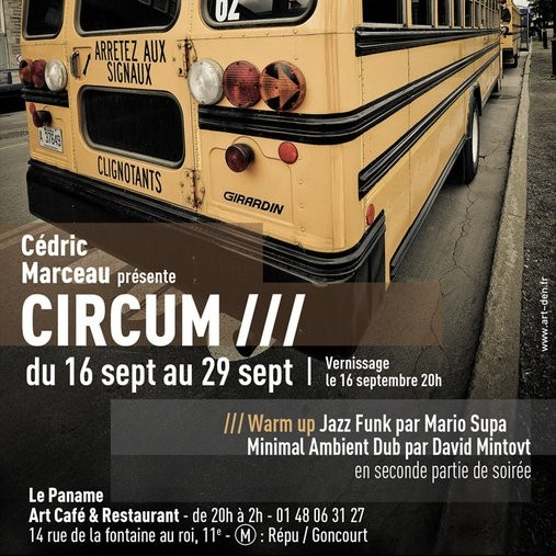 Circum // Vernissage Marceaugraphy