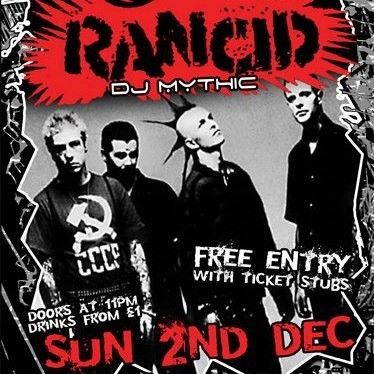 Renegade - Rancid Aftershow (02-Dec-2012)