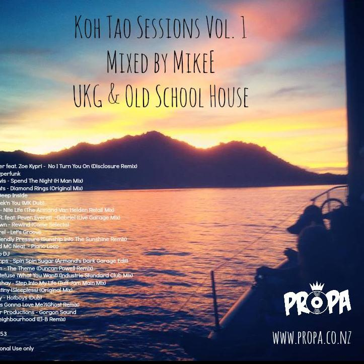 Koh Tao Sessions Vol. 1: UKG &  Old School House