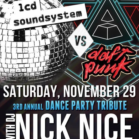 LCD Soundsystem vs Daft Punk 2014