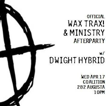 Official WaxTrax! & Ministry After Party
