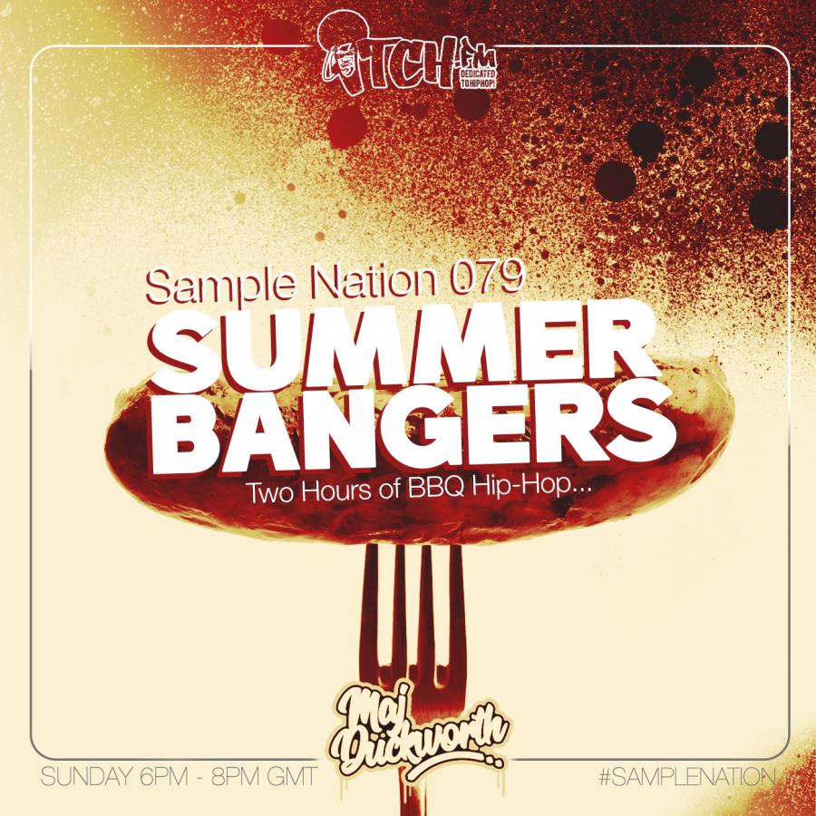 SAMPLE NATION 79 // SUMMER BBQ BANGERS