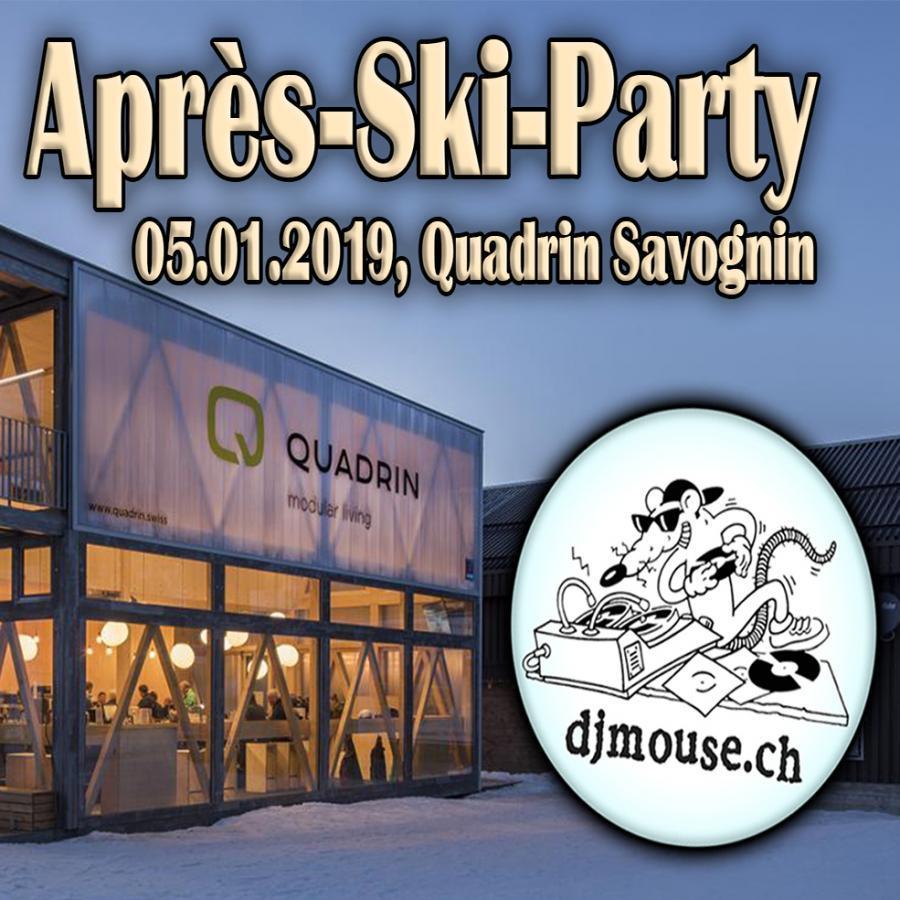 Après-Ski-Party QUADRIN Savognin 05.01.2019