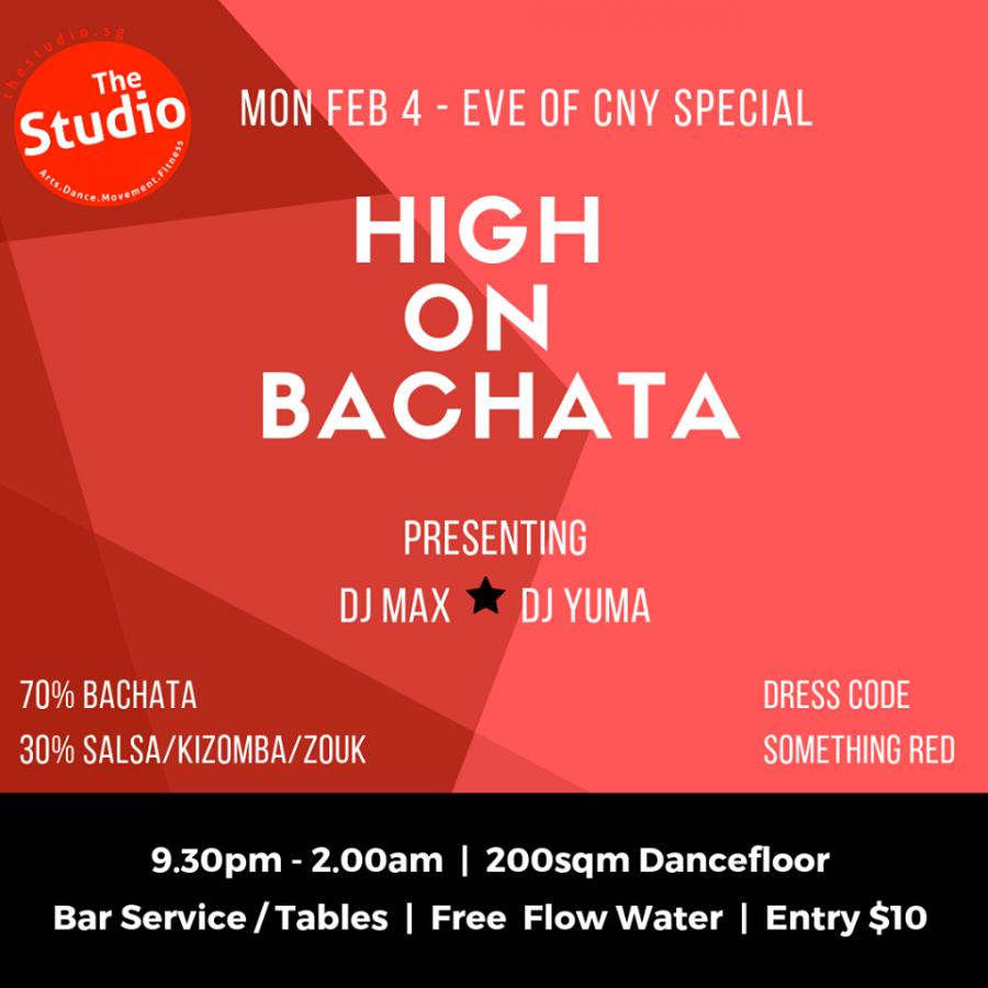CNY - High On Bachata (HOB)