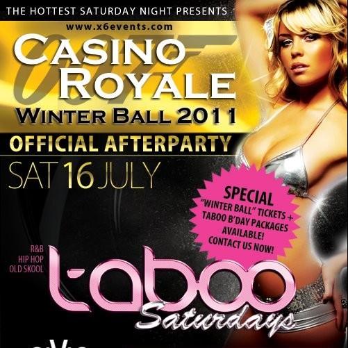 Taboo, 16th July 1am-2am