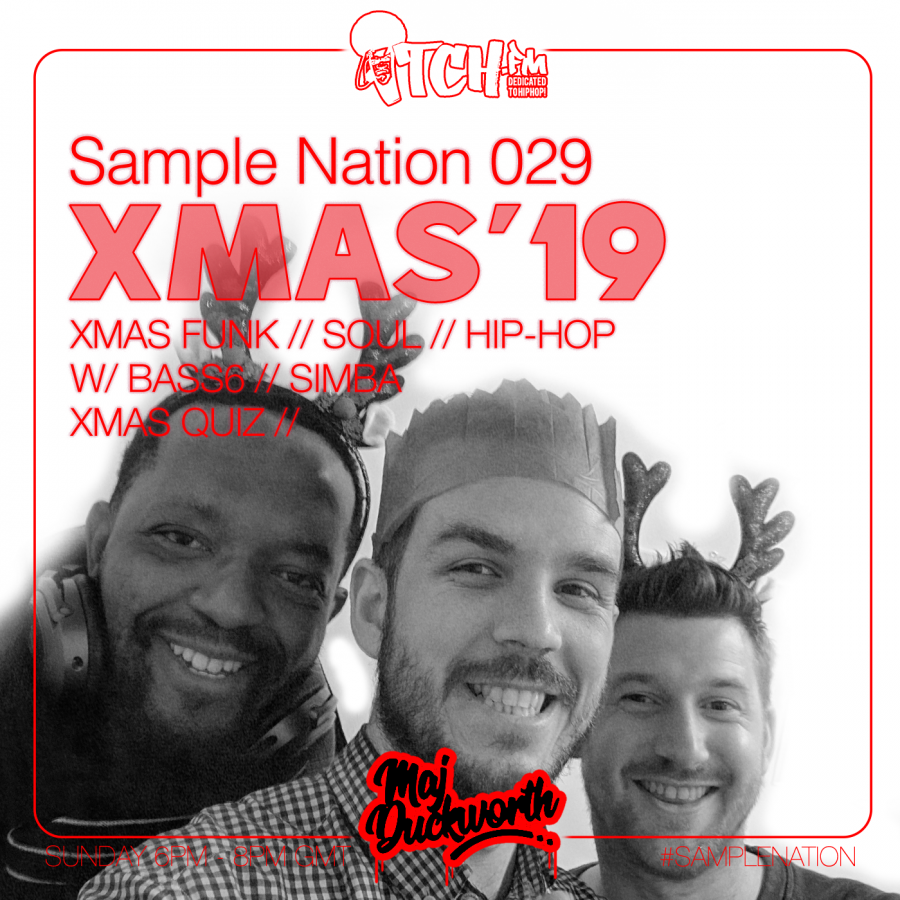 SAMPLE NATION 29 // XMAS'19 SPECIAL w/ BASS6 // SIMBA