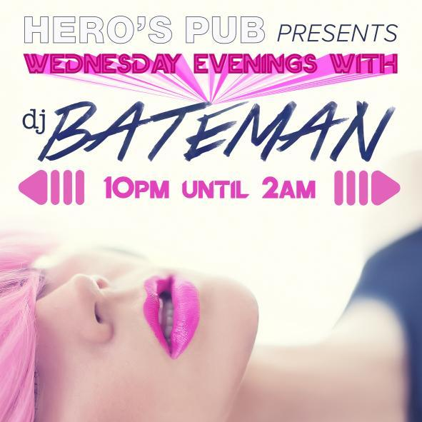Wednesday Evening with DJ BATEMAN - October 4th, 2017