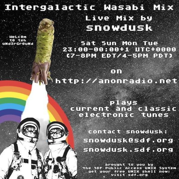 2018-06-04 / intergalactic wasabi mix