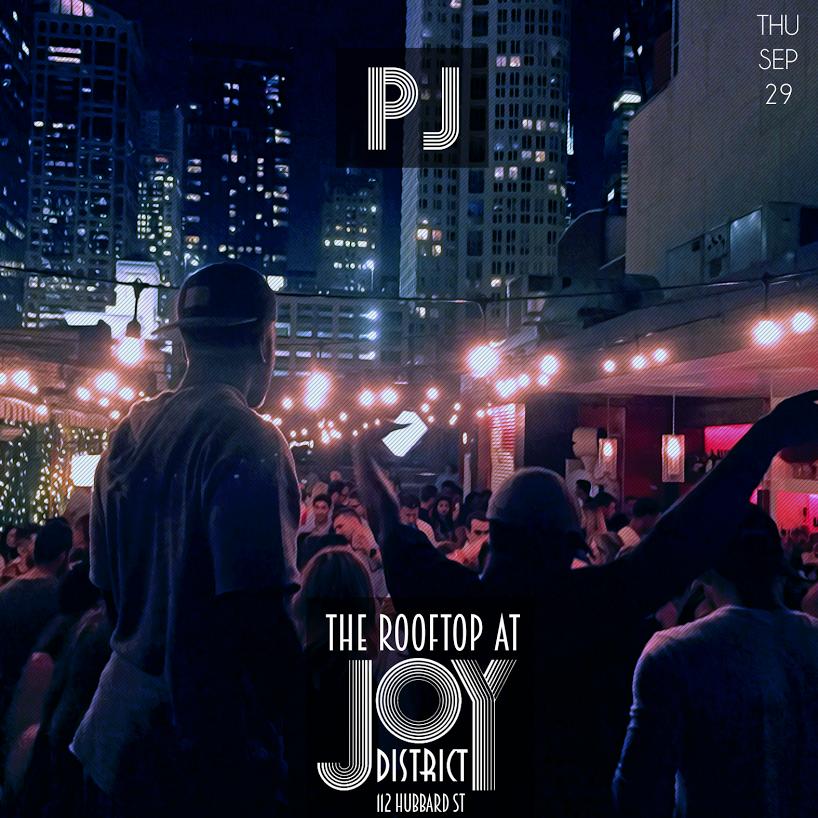 Joy District Rooftop (Birthday Weekend) 9/29/16