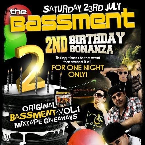 23/07/11 <<<VIDEO SET>>> BASSMENT 2ND BDAY BLOCKPARTY | MYBAR