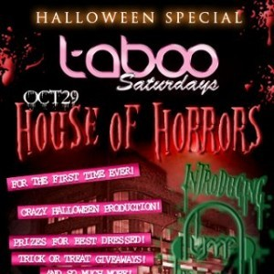 Taboo, 29th October 2011, 1am - 2am