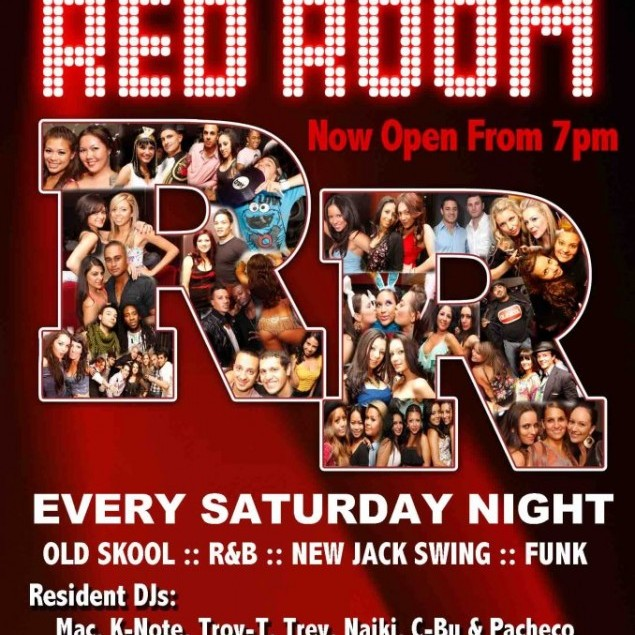 Red Room, 3rd December 2011, 10PM - 12AM