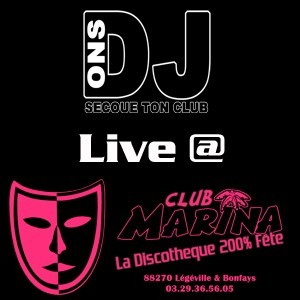 Secoue Ton Club (Live@Marina)