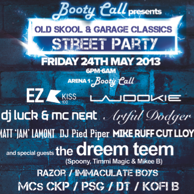 LIVE @ Booty Call Maidstone 25/05/2013